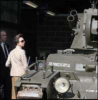 Princess Anne gets a tank named after her.