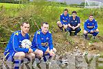 Owen to finish cap l-r: Gerry O'Sullivan, Mike Evans, Mark Kennedy, Brendan Griffin, Aaron Brosnan.