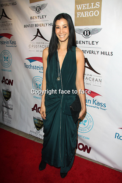 BEVERLY HILLS, CA - February 05: Lisa Ling at Experience East Meets West honoring Beverly Hills' momentous centennial year, Crustacean, Beverly Hills, February 05, 2014.<br />