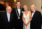 Canon Pat Horgan,  Michael Vaughan, Irish Hotels Federation President, Kitty and Sean O'Grady, Mayor of Killarney, at the Irish Hotels Federation Conference Gala Dinner in The Malton Hotel, Killarney on Tuesday night. Picture: MacMonagle, Killarney.