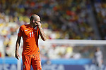 Arjen Robben (NED), JUNE 29, 2014 - Football / Soccer : FIFA World Cup Brazil<br /> match between Netherlands and Mexico at the Castelao stadium in Fortaleza, Brazil. (Photo by AFLO)