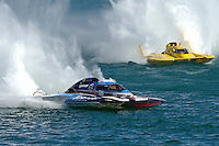"Mathew Daoust, GP-9 and Jerry Hopp, GP-15 ""Happy Go Lucky""(Grand Prix Hydroplane(s)"