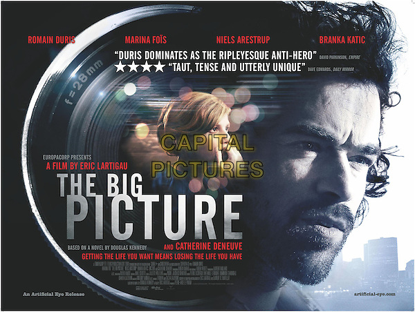 BRITISH POSTER ART.in The Big Picture (2010) .(L'homme qui voulait vivre sa vie).*Filmstill - Editorial Use Only*.CAP/FB.Supplied by Capital Pictures.