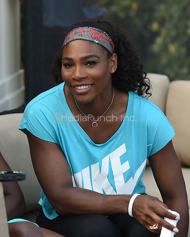 KEY BISCAYNE, FL - MARCH 24:  Serena Williams attends The All Star Tennis event at the Ritz Carlton on March 24, 2015 in Key Biscayne, Florida. Credit: mpi04/MediaPunch