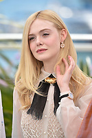 CANNES, FRANCE - MAY 14: Jury Member Elle Fanning wearing Chopard attends the Master of Ceremonies photocall during the 72nd annual Cannes Film Festival on May 14, 2019 in Cannes, France. <br /> CAP/PL<br /> ©Phil Loftus/Capital Pictures