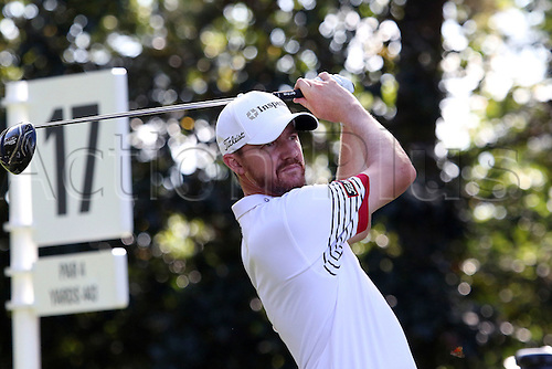 22.09.2016. Atlanta, Georgia, USA. Jimmy Walker during the opening round of the 2016 PGA Tour Championship at East Lake Golf Club in Atlanta, Georgia.