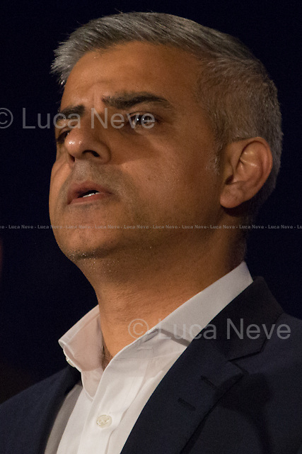 Sadiq Khan MP (Labour Party new Mayor of London).<br />