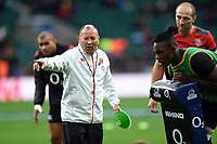 England Rugby Head Coach Eddie Jones. Old Mutual Wealth Series International match between England and Argentina on November 11, 2017 at Twickenham Stadium in London, England. Photo by: Patrick Khachfe / Onside Images