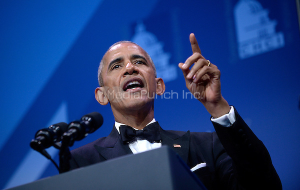 United States President Barack Obama speaks at the 39th Annual Congressional Hispanic Caucus Institute Public Policy Conference and Annual Awards Gala at the Walter E. Washington Convention Center, September 15 2016, in Washington, DC. <br /> Credit: Olivier Douliery / Pool via CNP /MediaPunch