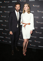 04 November 2018 - Los Angeles, California - Jamie Dornan and Rosamund Pike. 10th Hamilton Behind the Camera Awards hosted by Los Angeles Confidential at Exchange LA. <br /> CAP/ADM/FS<br /> &copy;FS/ADM/Capital Pictures