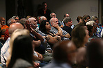 About 200 people listen as Republican presidential candidate Jeb Bush speaks at a town hall meeting in Carson City, Nev., on Friday, July 17, 2015. <br /> Photo by Cathleen Allison