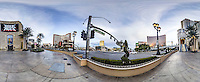 Las Vegas Blvd, the Las Vegas Strip, December  2015.  (photo by Brian Cleary/www.bcpix.com)