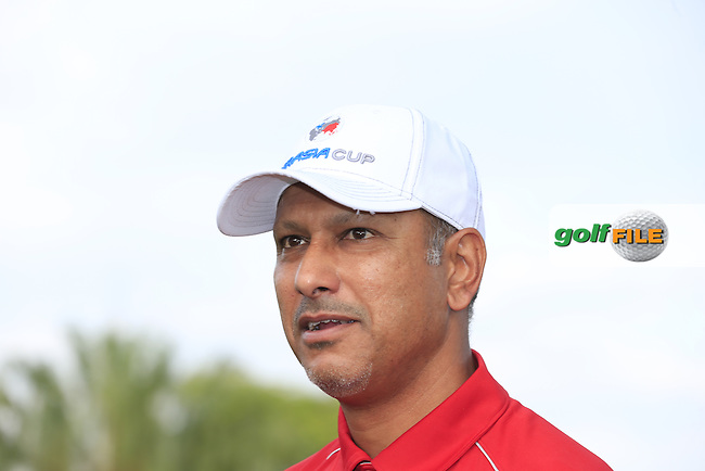 Asian Team Captain Jeev Milkha Singh (IND) during Pro-Am Day of the 2016 Eurasia Cup held at the Glenmarie Golf &amp; Country Club, Kuala Lumpur, Malaysia. 14th January 2016.<br /> Picture: Eoin Clarke | Golffile<br /> <br /> <br /> <br /> All photos usage must carry mandatory copyright credit (&copy; Golffile | Eoin Clarke)