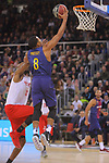 League ACB-ENDESA 2017/2018 - Game: 20.<br /> FC Barcelona Lassa vs Retabet Bilbao Basket: 90-58.<br /> Phill Pressey.