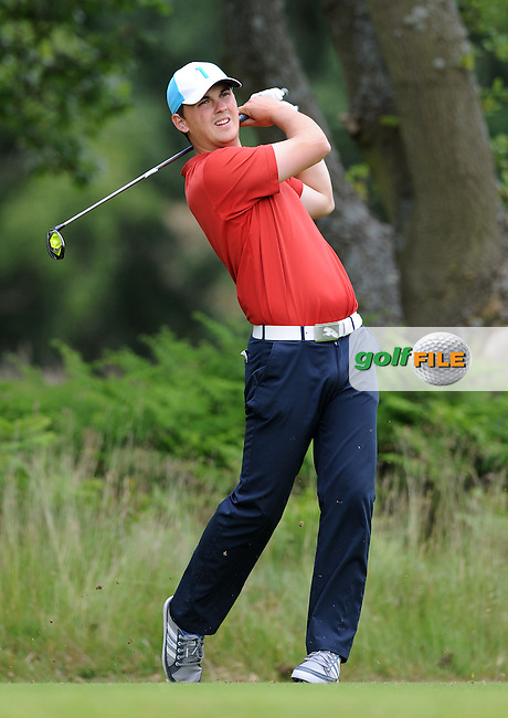 Tom Dolan of England during the Second Round of The Brabazon Trophy 2015 at Notts Golf Club, Nottingham, England. Picture: Golffile | Richard Martin-Roberts<br /> All photo usage must carry mandatory copyright credit (&copy; Golffile | Richard Martin- Roberts)
