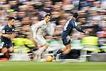 Cristiano Ronaldo of Real Madrid in action during their La Liga 2016-17 match between Real Madrid and Malaga CF at the Estadio Santiago Bernabéu on 21 January 2017 in Madrid, Spain. Photo by Diego Gonzalez Souto / Power Sport Images