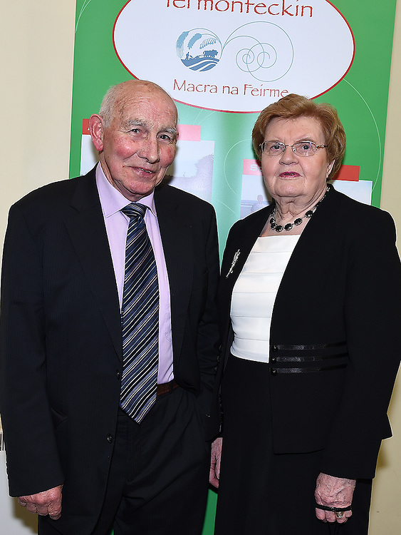 Paud and Phil Leech pictured at the Termonfeckin Macra reunion in the Boyne Valley hotel. Photo:Colin Bell/pressphotos.ie