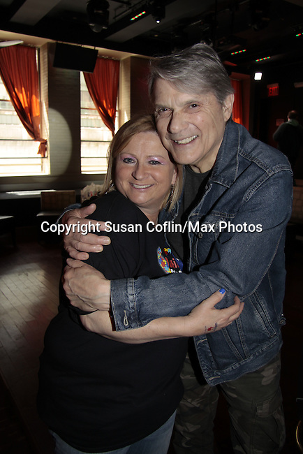 Wendy & Jay Fletcher - 11th Annual Daytime Stars & Strikes Event for Autism - 2015 on April 19, 2015 hosted by Guiding Light's Jerry ver Dorn (& OLTL) and Liz Keifer at Bowlmor Lanes Times Square, New York City, New York. (Photos by Sue Coflin/Max Photos)