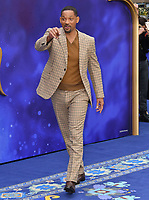 Will Smith attends live-action remake of the hit Disney animated film Aladdin on 9th May 2019 in London, England, UK.<br /> <br /> CAP/JOR<br /> &copy;JOR/Capital Pictures