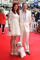 Ashleigh Butler, Pudsey and David Walliams<br /> arriving for the premiere of &quot;Pudsey the Dog the movie&quot; at the Vue cinema, Leicester Square, London. 13/07/2014 Picture by: Steve Vas / Featureflash