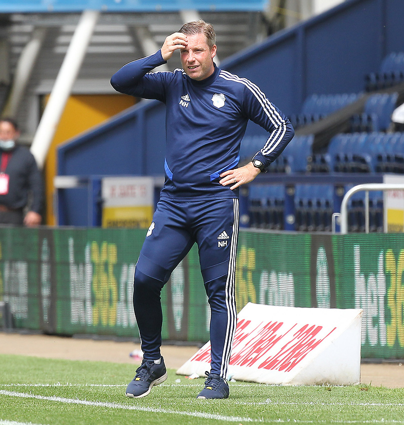 Cardiff City's Manager Neil Harris <br /> <br /> Photographer Mick Walker/CameraSport<br /> <br /> The EFL Sky Bet Championship - Preston North End v Cardiff  City - Saturday 27th June 2020 - Deepdale Stadium - Preston<br /> <br /> World Copyright © 2020 CameraSport. All rights reserved. 43 Linden Ave. Countesthorpe. Leicester. England. LE8 5PG - Tel: +44 (0) 116 277 4147 - admin@camerasport.com - www.camerasport.com