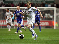 Pictured: Mark Gower of Swansea City in action <br /> Re: Coca Cola Championship, Swansea City Football Club v Birmingham City at the Liberty Stadium, Swansea, south Wales Friday 21 November 2008.<br /> Picture by D Legakis Photography (Athena Picture Agency), Swansea, 07815441513