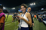 KANSAS CITY, KS - SEPTEMBER 20: SKC Communications Manager Molly Dreska. Sporting Kansas City hosted the New York Red Bulls on September 20, 2017 at Children's Mercy Park in Kansas City, KS in the 2017 Lamar Hunt U.S. Open Cup Final. Sporting Kansas City won the match 2-1.