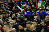 27th March 2018, Wembley Stadium, London, England; International Football Friendly, England versus Italy; Italy fans