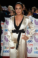 LONDON, UK. October 29, 2018: Heather Watson at the Pride of Britain Awards 2018 at the Grosvenor House Hotel, London.<br /> Picture: Steve Vas/Featureflash