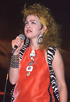 Cindy Lauper 1986<br /> Photo by John Barrett/PHOTOlink.net