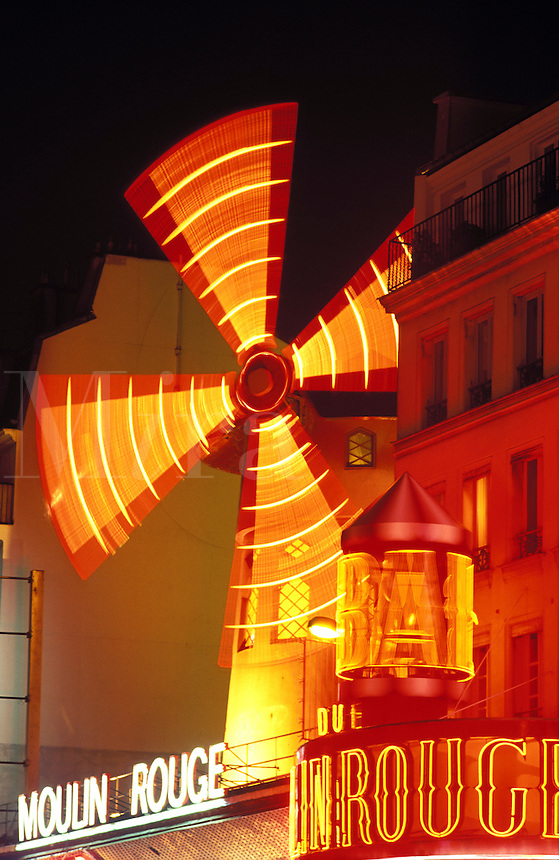 France,Paris. Moulin Rouge