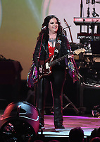 LOS ANGELES - JANUARY 24: Ashley McBryde performs on the 2020 MusiCares Person of the Year tribute concert honoring Aerosmith on January 24, 2020 in Los Angeles, California. (Photo by Frank Micelotta/PictureGroup)