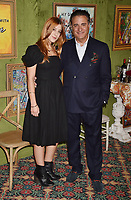 HOLLYWOOD, CA - OCTOBER 04: Andy Garcia (R) and daughter Daniella Garcia-Lorido attend the HBO Films' 'My Dinner With Herve' Premiere at Paramount Studios on October 4, 2018 in Hollywood, California.<br /> CAP/ROT/TM<br /> &copy;TM/ROT/Capital Pictures