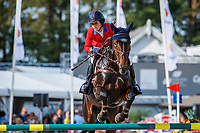 USA-Jennie Brannigan rides Stella Artois during the Showjumping for the CCIO4*-L FEI Nations Cup Eventing. 2019 Military Boekelo-Enschede International Horse Trials. Sunday 13 October. Copyright Photo: Libby Law Photography
