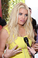 LOS ANGELES, CA, USA - APRIL 13: Jessica Simpson at the 11th Annual John Varvatos Stuart House Benefit held at John Varvatos on April 13, 2014 in Los Angeles, California, United States. (Photo by David Acosta/Celebrity Monitor)