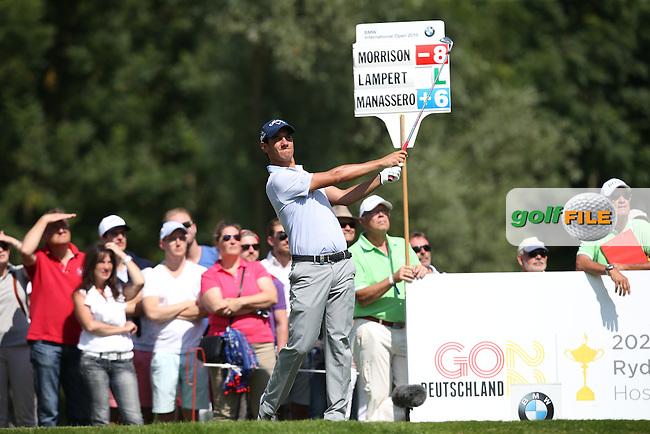 Matteo Manassero (ITA) plays to the 12th during Round Two of the 2015 BMW International Open at Golfclub Munchen Eichenried, Eichenried, Munich, Germany. 26/06/2015. Picture David Lloyd | www.golffile.ie