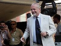 Repubblica delle idee Napoli<br /> nella foto  il calcio si fa a mare<br /> Aurelio De Laurentiis<br /> foto ciro de luca