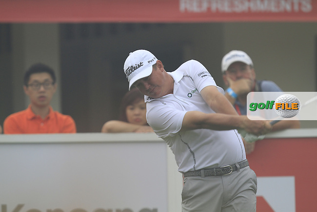 Jason Dufner (USA) on the 10th during Round 3 of the CIMB Classic in the Kuala Lumpur Golf &amp; Country Club on Saturday 1st November 2014.<br /> Picture:  Thos Caffrey / www.golffile.ie