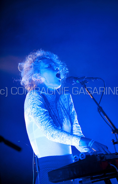 Concert of the Belgian indiepopband SX at the Zeverrock festival (Belgium, 09/08/2014)
