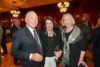 90th birthday party for Jefferson University Hospital's Dr. Gerald J. Marks Saturday April 25, 2015 at the Union League in Philadelphia, Pennsylvania. (Photo by William Thomas Cain/Cain Images)