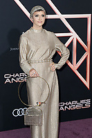 """LOS ANGELES - NOV 11:  Alyson Stoner at the """"Charlie's Angels"""" Premiere at the Village Theater on November 11, 2019 in Westwood, CA"""