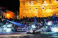 13th March 2020, Guanajuato, Mexico; WRC Rally of Mexico;   Elfyn Evans GBR and Scott Martin GBR - Toyota Yaris WRC
