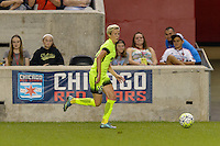 Chicago, IL - Sunday Sept. 04, 2016: Megan Rapinoe during a regular season National Women's Soccer League (NWSL) match between the Chicago Red Stars and Seattle Reign FC at Toyota Park.