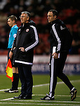 Nigel Adkins manager of Sheffield Utd and assistant Andy Crosby - English League One - Sheffield Utd vs Burton Albion - Bramall Lane Stadium - Sheffield - England - 1st March 2016 - Pic Simon Bellis/Sportimage