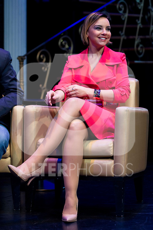 "Chenoa during the presentation of the new TV program of Antena 3, ""Tu cara no me suena"" at  Teatro Gran Maestre in Madrid. March 08, 2017. (ALTERPHOTOS/Borja B.Hojas)"