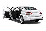 Car images of2014 Nissan Sentra SV 4 Door Sedan Doors