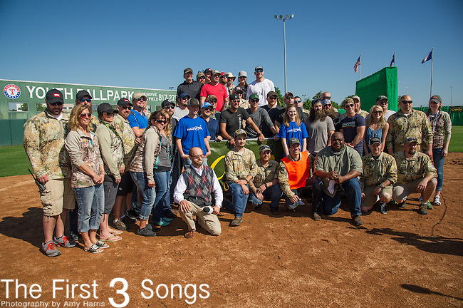 The ACM & Cabela's Great Outdoor Archery Event during the 50th Academy Of Country Music Awards at the Texas Rangers Youth Ballpark on April 18, 2015 in Arlington, Texas.