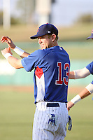 Dustin Geiger - AZL Cubs - 2010 Arizona League. .Photo by:  Bill Mitchell/Four Seam Images..