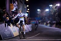 CX World Champion Sanne Cant (BEL/Iko-Beobank) wins the women's race<br /> <br /> 44th Superprestige Diegem (BEL) 2018<br /> ©kramon