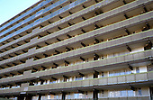 The now demolished Heygate Estate, Elephant and Castle, Southwark, London, pictured in 2002, on the site of the new Elephant Park development.